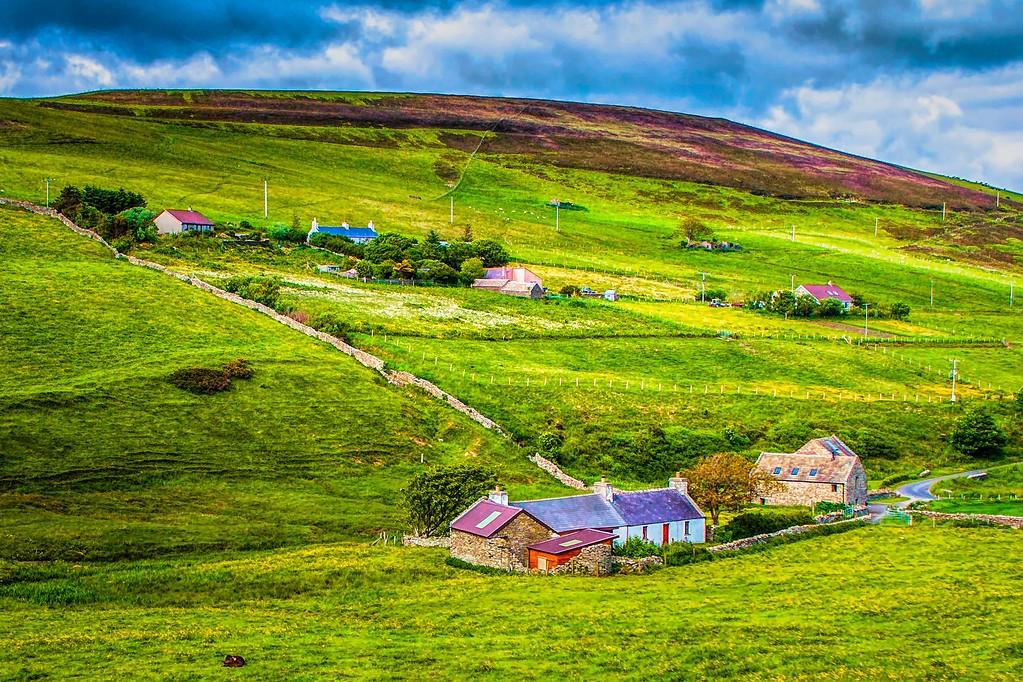 苏格兰奥克尼岛(Orkney Islands),沿路风景_图1-5