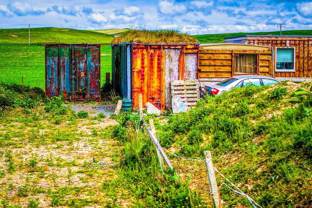 苏格兰奥克尼岛(Orkney Islands),沿路风景_图1-1