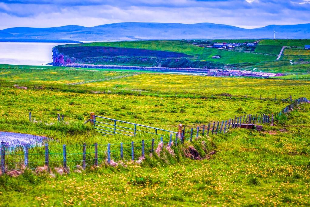 苏格兰奥克尼岛(Orkney Islands),沿路风景_图1-11