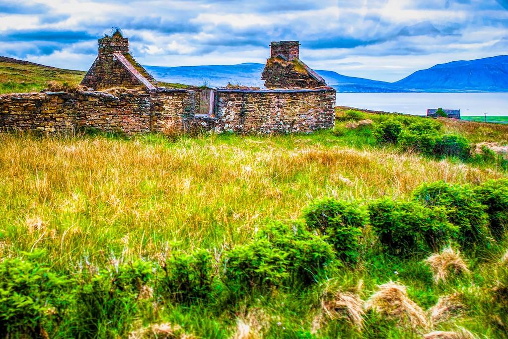 苏格兰奥克尼岛(Orkney Islands),沿路风景_图1-9