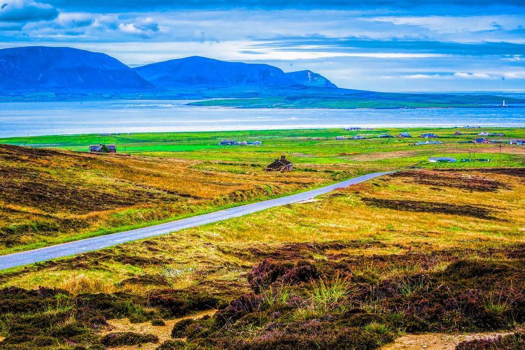 苏格兰奥克尼岛(Orkney Islands),沿路风景_图1-13
