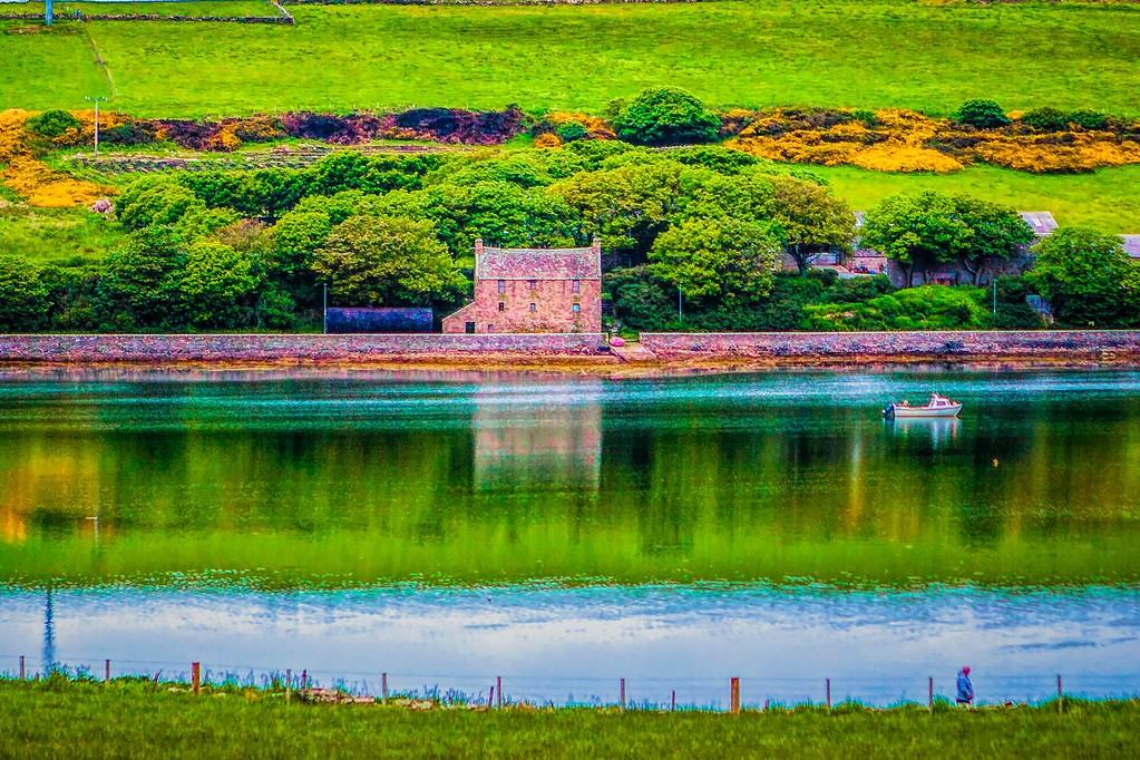 苏格兰奥克尼岛(Orkney Islands),沿路风景_图1-15