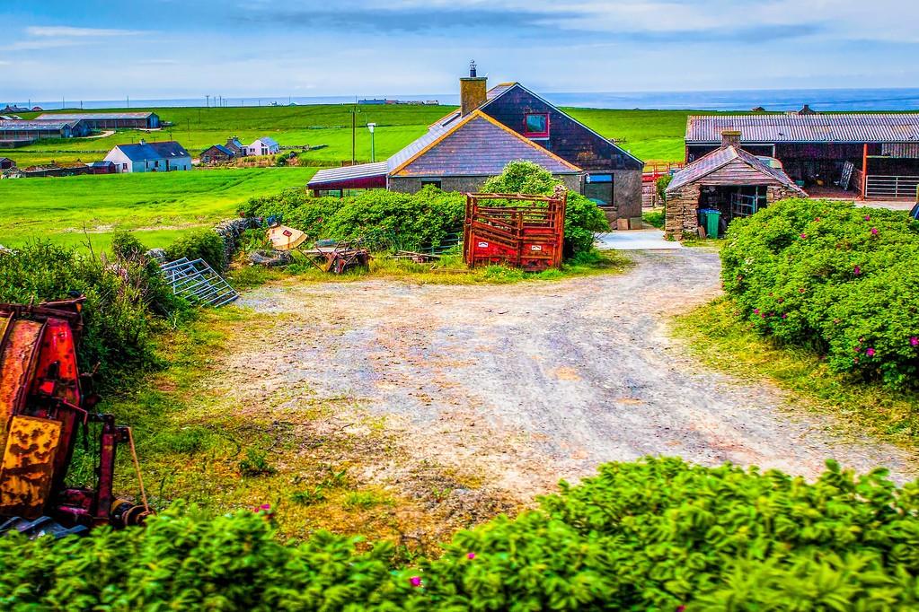 苏格兰奥克尼岛(Orkney Islands),沿路风景_图1-28
