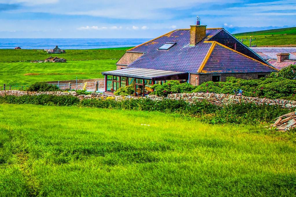 苏格兰奥克尼岛(Orkney Islands),沿路风景_图1-32