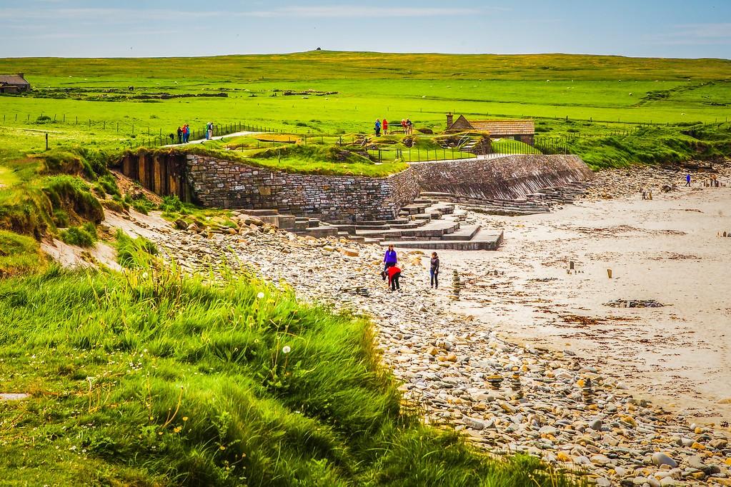 苏格兰奥克尼岛(Orkney Islands),沿路风景_图1-35
