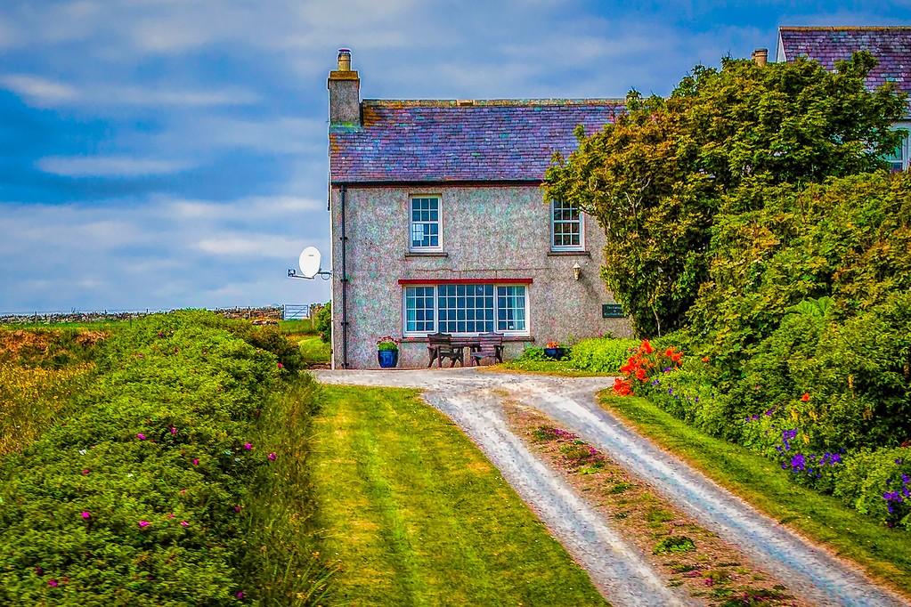 苏格兰奥克尼岛(Orkney Islands),沿路风景_图1-33