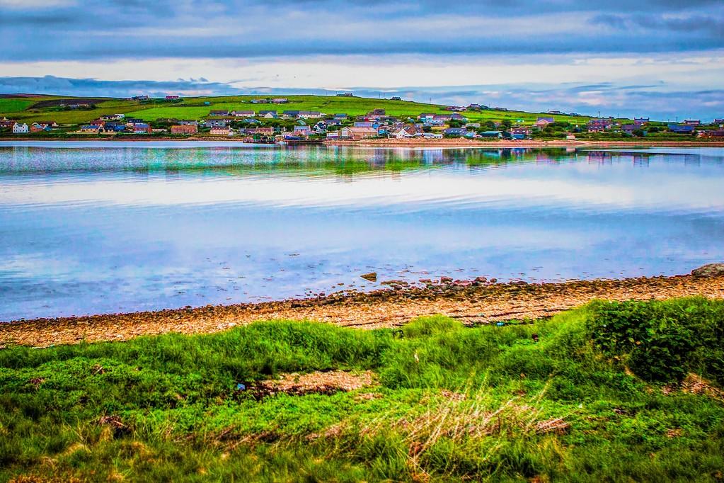苏格兰奥克尼岛(Orkney Islands),沿路风景_图1-36