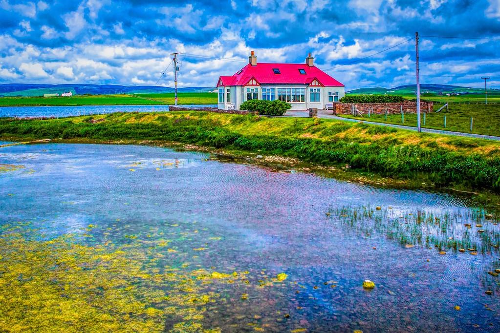 苏格兰奥克尼岛(Orkney Islands),沿路风景_图1-40
