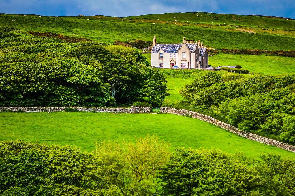 苏格兰奥克尼岛(Orkney Islands),沿路风景_图1-37