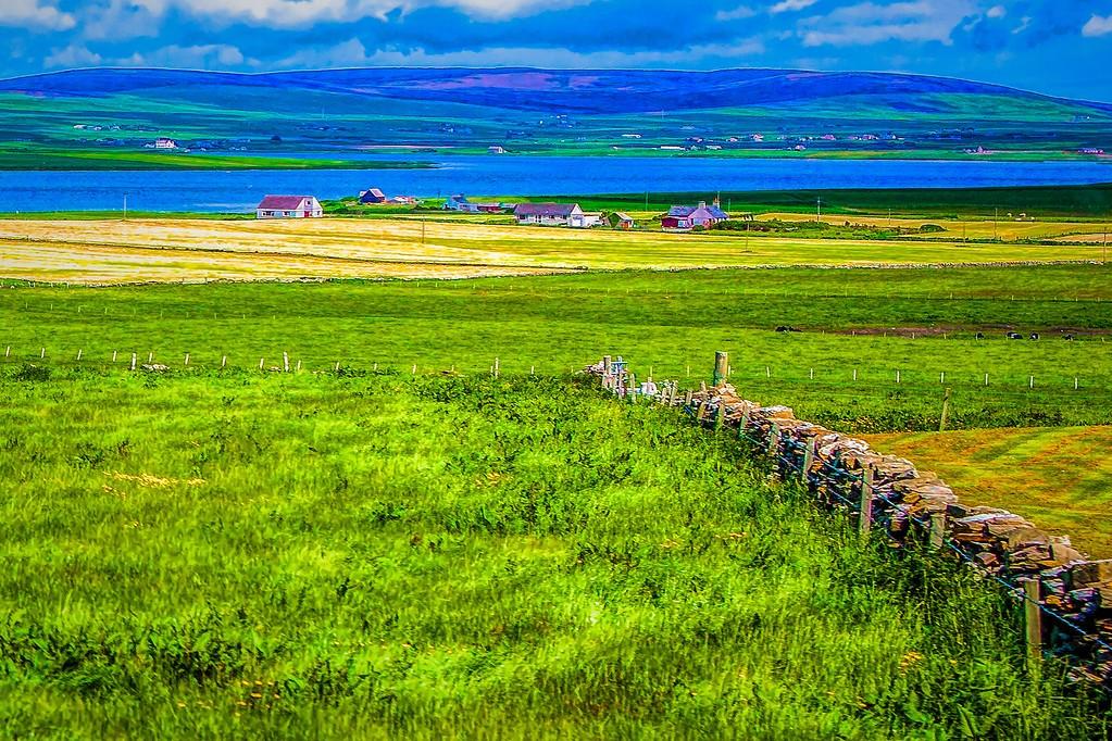 苏格兰奥克尼岛(Orkney Islands),沿路风景_图1-39