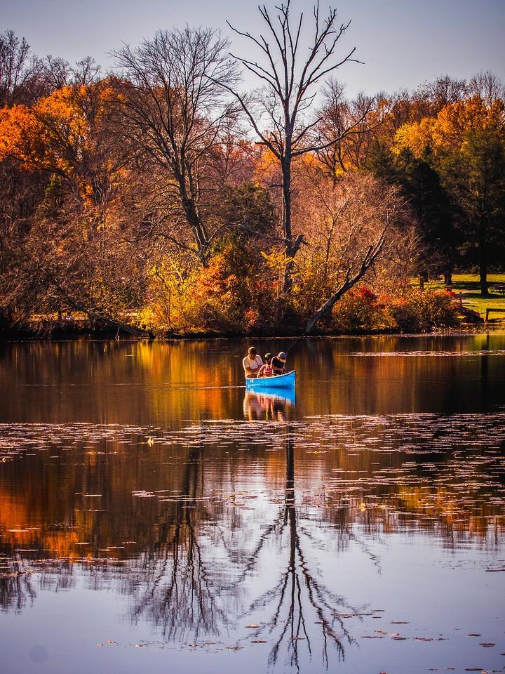 宾州 French Creek State Park,秋影秋色_图1-12
