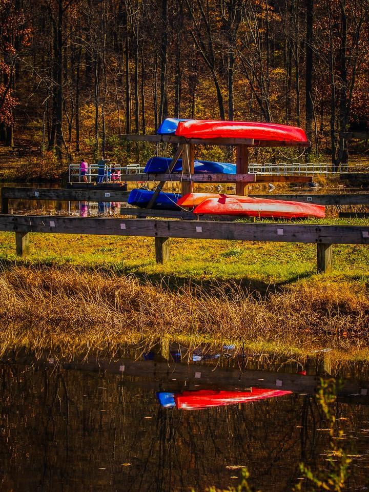 宾州 French Creek State Park,秋影秋色_图1-11