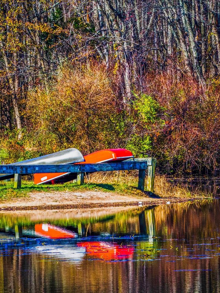 宾州 French Creek State Park,秋影秋色_图1-20