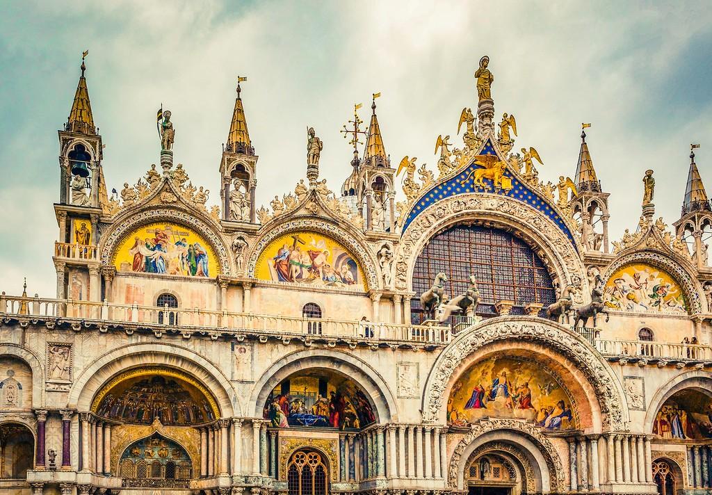 威尼斯圣马可大教堂(St Mark's Basilica), 精致杰作_图1-19
