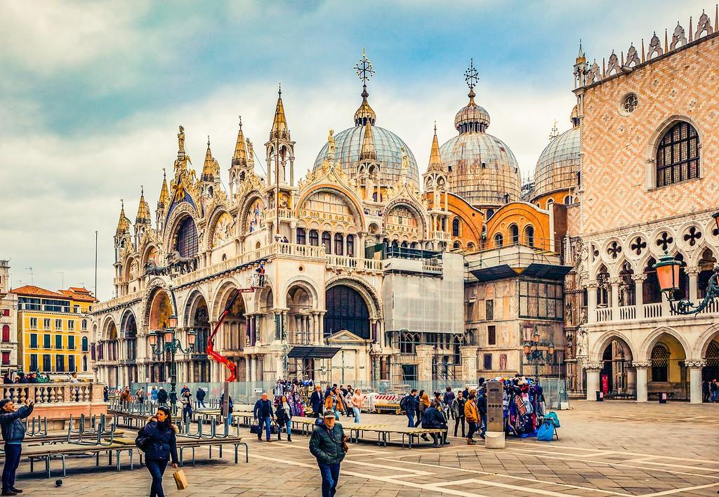 威尼斯圣马可大教堂(St Mark's Basilica), 精致杰作_图1-13