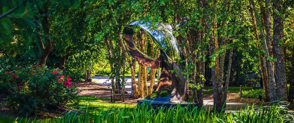 新泽西州雕塑公园(Grounds for scuplture),无声对话_图1-23