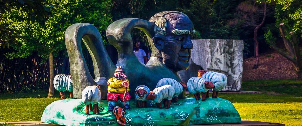 新泽西州雕塑公园(Grounds for scuplture),无声对话_图1-20