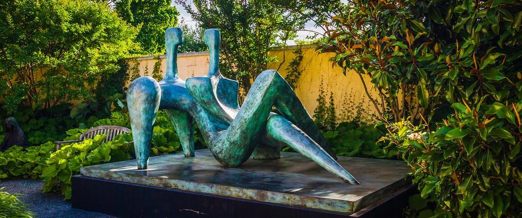 新泽西州雕塑公园(Grounds for scuplture),无声对话_图1-19
