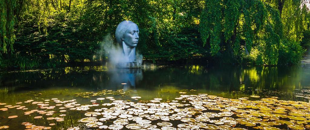 新泽西州雕塑公园(Grounds for scuplture),无声对话_图1-24