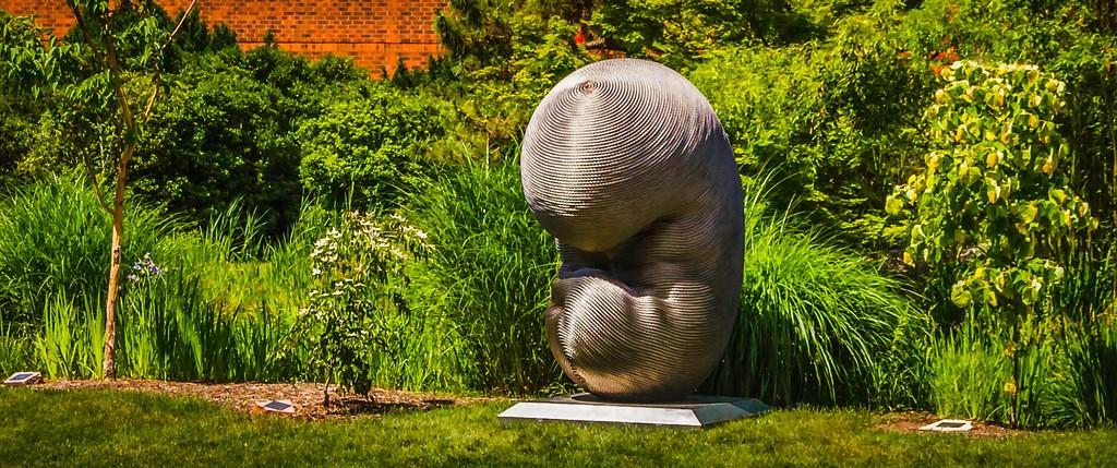 新泽西州雕塑公园(Grounds for scuplture),无声对话_图1-18