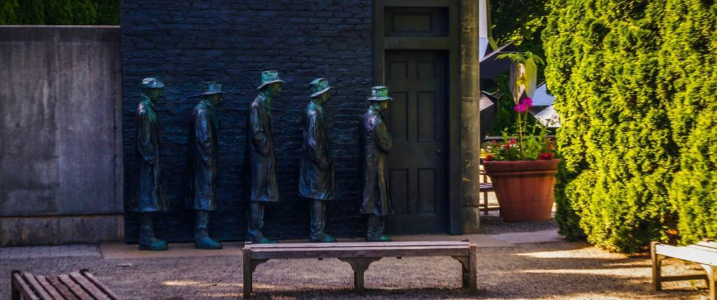 新泽西州雕塑公园(Grounds for scuplture),无声对话_图1-3