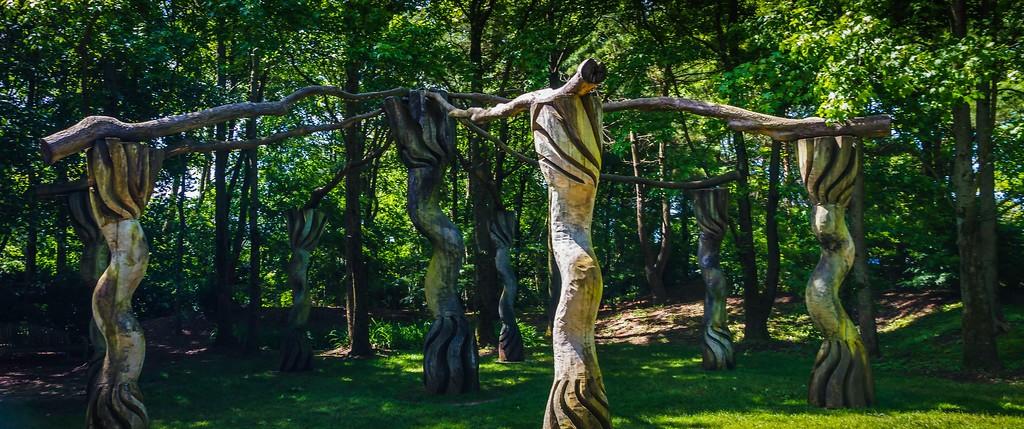 新泽西州雕塑公园(Grounds for scuplture),无声对话_图1-6