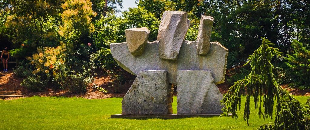 新泽西州雕塑公园(Grounds for scuplture),无声对话_图1-7