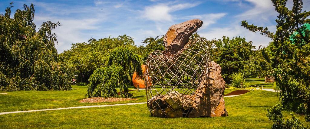 新泽西州雕塑公园(Grounds for scuplture),无声对话_图1-8