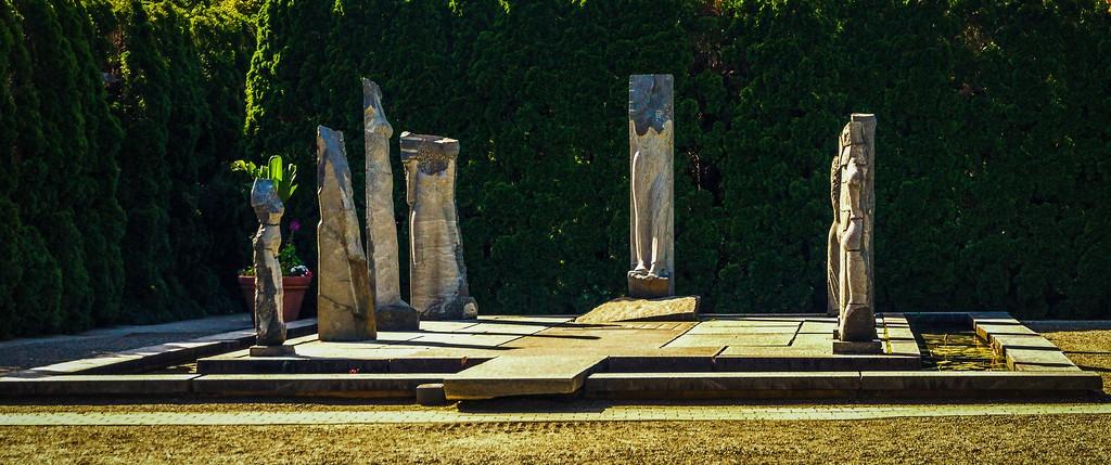 新泽西州雕塑公园(Grounds for scuplture),无声对话_图1-9
