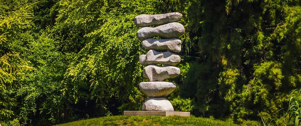 新泽西州雕塑公园(Grounds for scuplture),无声对话_图1-15
