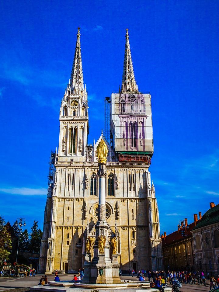 克罗地亚首都萨格勒布(Zagreb),城市地标_图1-1