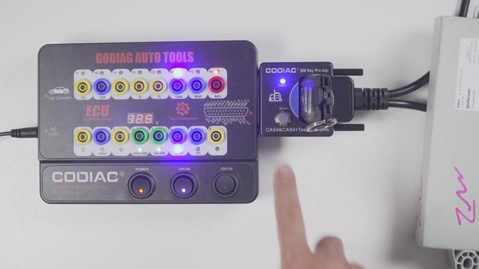Godiag GT100 Plus CAS4 Test Platform Key Synchronization Test_图1-2