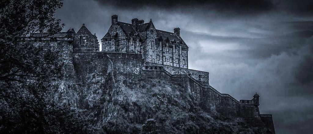 苏格兰爱丁堡城堡(Edinburgh Castle),山顶杰作_图1-1