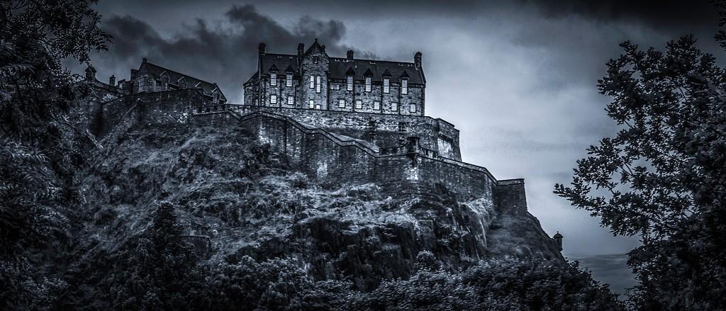 苏格兰爱丁堡城堡(Edinburgh Castle),山顶杰作_图1-6