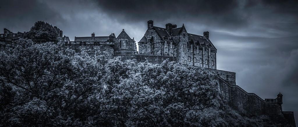 苏格兰爱丁堡城堡(Edinburgh Castle),山顶杰作_图1-2