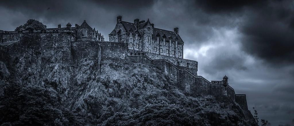 苏格兰爱丁堡城堡(Edinburgh Castle),山顶杰作_图1-3