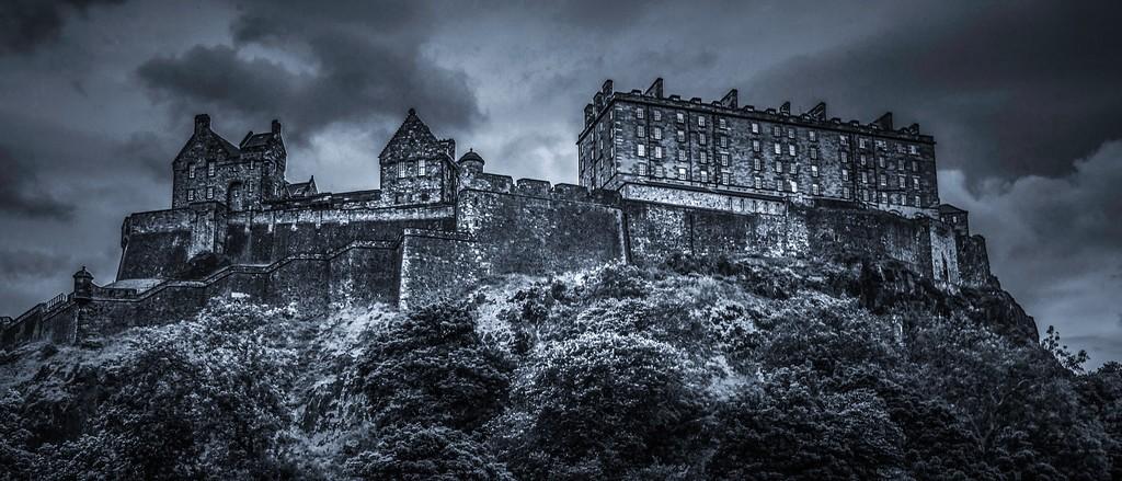 苏格兰爱丁堡城堡(Edinburgh Castle),山顶杰作_图1-28
