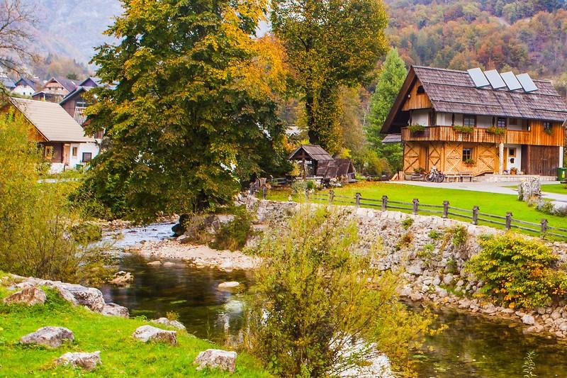 斯洛文尼亚乡村,风情古朴_图1-14