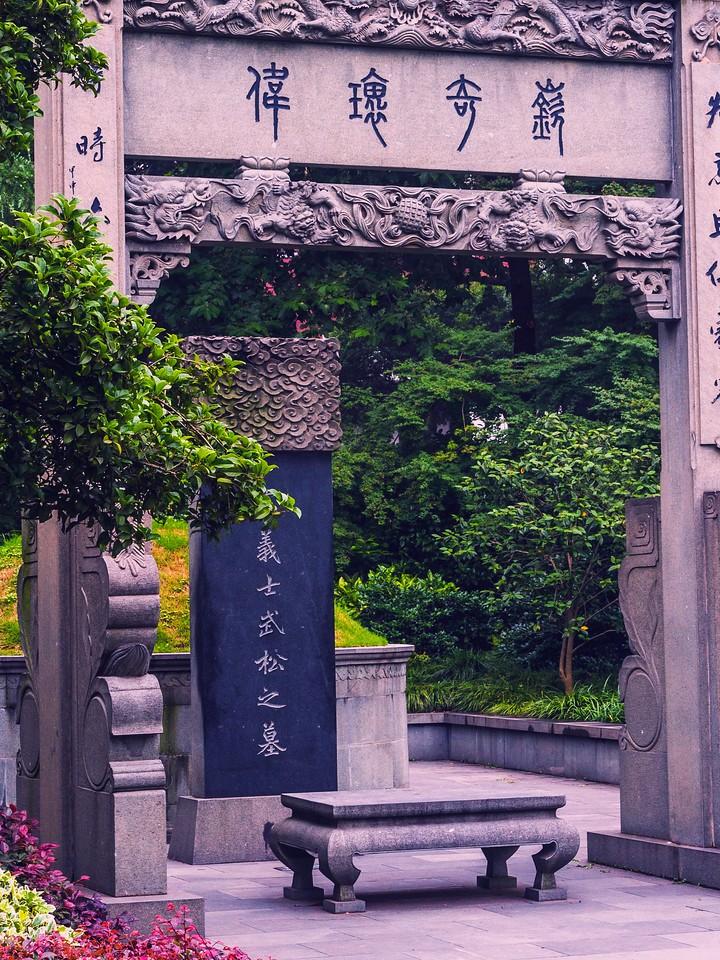 杭州西湖,荷花轻舟柳树_图1-9