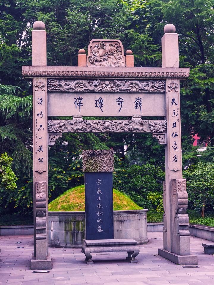 杭州西湖,荷花轻舟柳树_图1-7