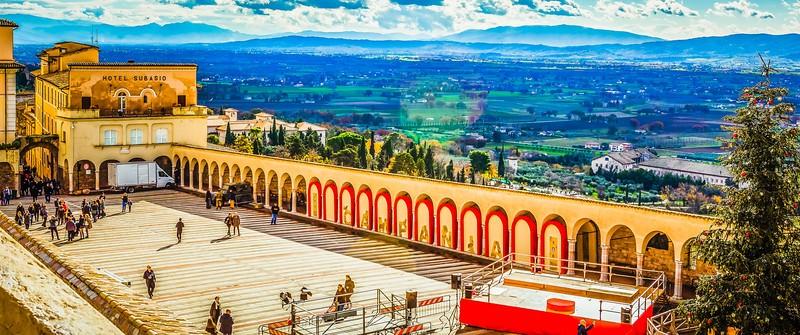意大利阿西西(Assisi), 俯视全城_图1-10