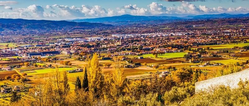意大利阿西西(Assisi), 俯视全城_图1-11