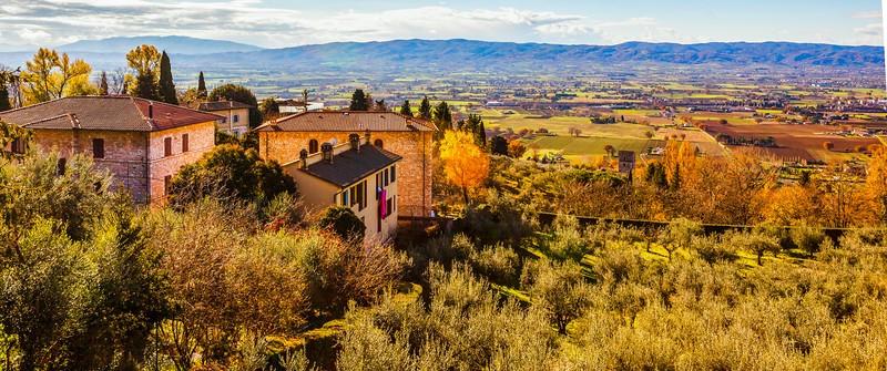 意大利阿西西(Assisi), 俯视全城_图1-9