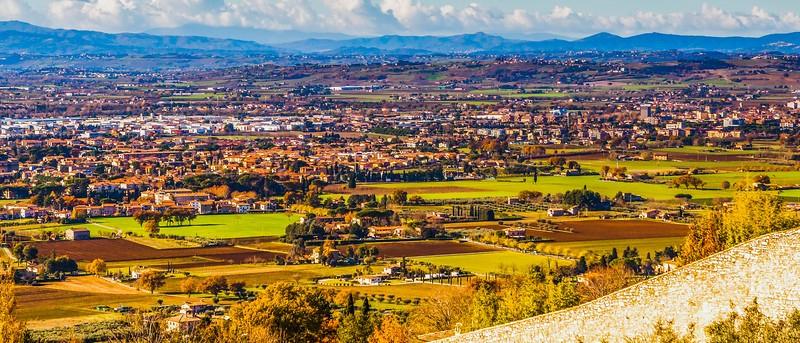 意大利阿西西(Assisi), 俯视全城_图1-5