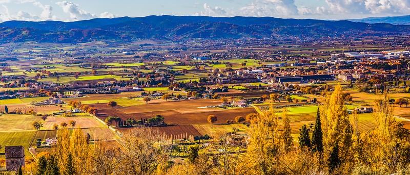 意大利阿西西(Assisi), 俯视全城_图1-12