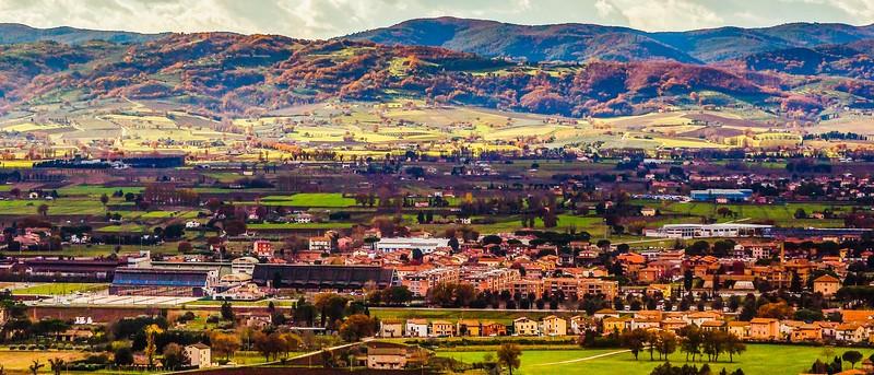 意大利阿西西(Assisi), 俯视全城_图1-4