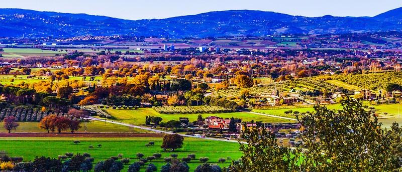 意大利阿西西(Assisi), 俯视全城_图1-6