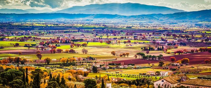 意大利阿西西(Assisi), 俯视全城_图1-1