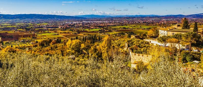 意大利阿西西(Assisi), 俯视全城_图1-3