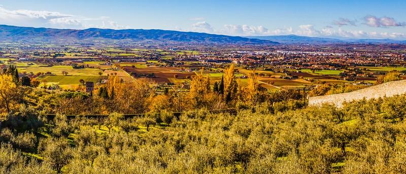 意大利阿西西(Assisi), 俯视全城_图1-13